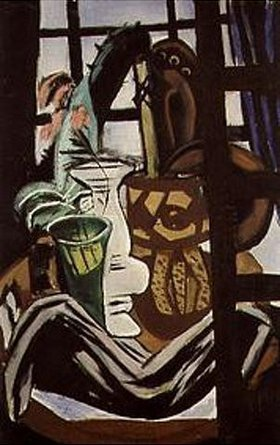 Max Beckmann: Stilleben mit Atelierfenster