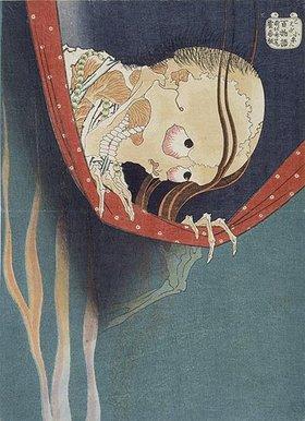 Katsushika Hokusai: Kohada Koheiji. Das Moskitonetz