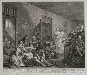 William Hogarth: Im Irrenhaus