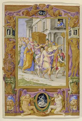 Giulio Clovio: Davids Tanz vor der Bundeslade