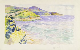 Henri Edmond Cross: Meeresbucht (Südfrankreich)