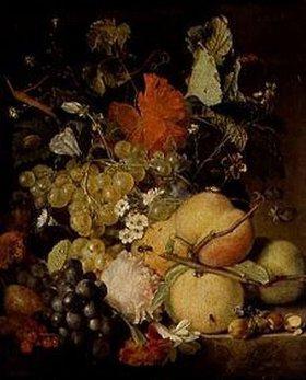 Jan van Huysum: Früchte, Blumen und Insekten