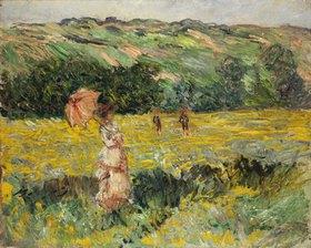 Claude Monet: Eine Wiese bei Limetz