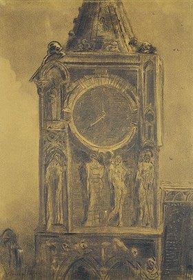 Odilon Redon: Die dumpfe Glocke von Sainte Gudule