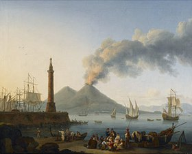 Jacob Philipp Hackert: Hafen von Neapel