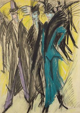 Ernst Ludwig Kirchner: Berliner Straßenszene