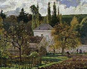 Camille Pissarro: Villa in der Eremitage (Pontoise)