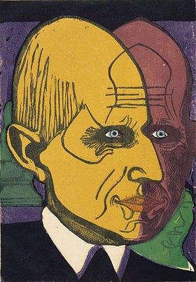 Ernst Ludwig Kirchner: Kopf Dr. Bauer