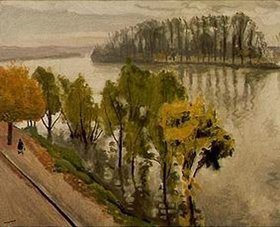 Albert Marquet: La Seine a la Frette en automne