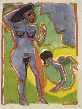 Ernst Ludwig Kirchner: Badende Frauen (Moritzburg)