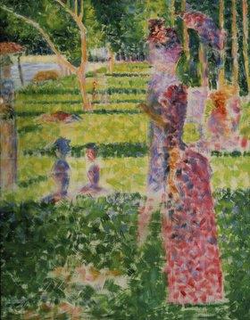 Georges Seurat: Promenierendes Paar