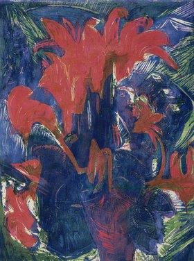 Ernst Ludwig Kirchner: Alpenveilchen