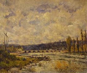 Alfred Sisley: Brücke in Sevres