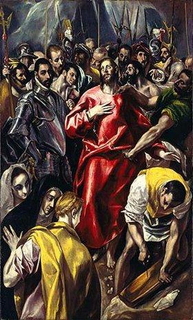 Greco El (Dom.Theotokopoulos): Die Entkleidung Christi (El Espolio)