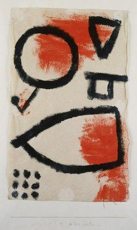 Paul Klee: Alea jacta. 1940