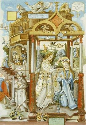 Johann Balthasar Bauer: Verkündigung an Maria