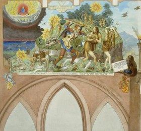 Johann Balthasar Bauer: Vertreibung aus dem Paradies