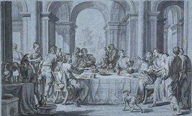 Johann Wolfgang Baumgartner: Gastmahl des Pharisäers