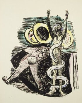 Max Beckmann: Magic Mirror from Day and Dream