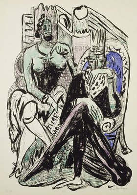 Max Beckmann: The Fall of Man from Day and Dream
