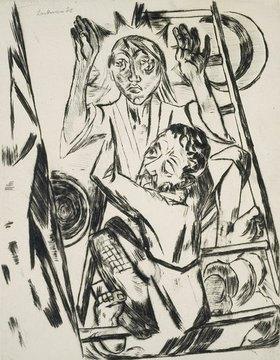 Max Beckmann: Jakob ringt mit dem Engel