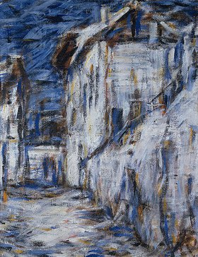 Christian Rohlfs: Gasse in Ascona