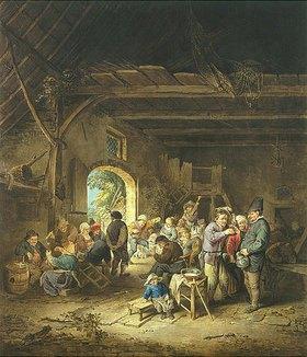 Jacobus Buys: Feiernde Bauern