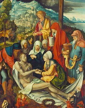 Albrecht Dürer: Beweinung Christi (Glimsche Beweinung)