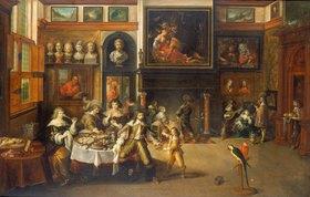 Frans Francken II.: Gastmahl im Hause des Bürgermeisters Rockox