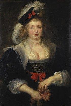 Peter Paul Rubens: Helene Fourment, einen Handschuh anziehend