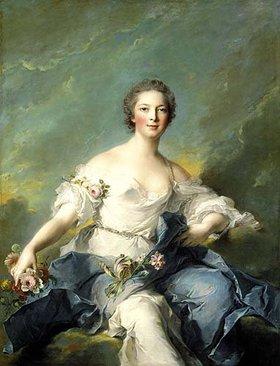 Jean Marc Nattier: Die Marquise de Baglion als Flora