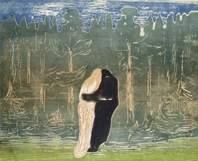 Edvard Munch: Zum Walde II