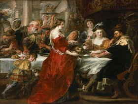 Peter Paul Rubens: Das Gastmahl des Herodes