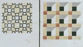 Friedrich Maximilian Hessemer: Mosaiken der Markuskirche in Venedig. 1838. 2 Blätter (unten)