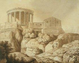 Wilhelm Friedrich Gmelin: Der Sybillentempel in Tivoli