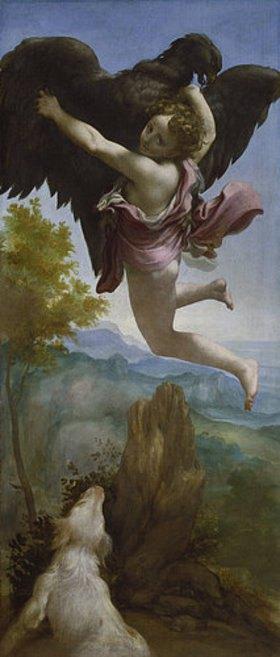 Correggio (Antonio Allegri): Die Entführung des Ganymed