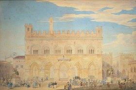 Friedrich Maximilian Hessemer: Rathaus von Piacenza