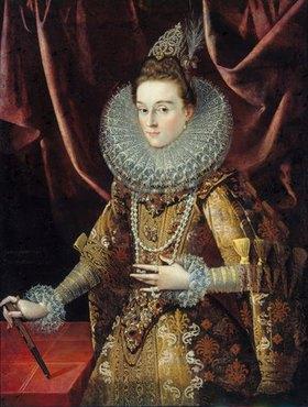 Juan Pantoja de la Cruz: Infantin Isabella Clara Eugenia von Spanien