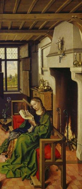 Meister von Flémalle (R.Campin): Die hl. Barbara