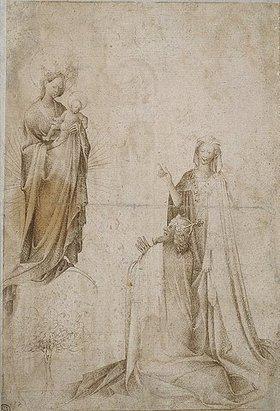 Franko-flämischer oder südwestdeutscher Meister: Weissagung der Sybille von Tibur