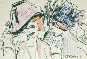 Ernst Ludwig Kirchner: Zwei Kokotten