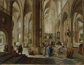 Pieter Neefs d.Ä.: Inneres einer gotischen Kirche