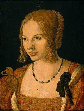 Albrecht Dürer: Brustbild einer jungen Venezianerin