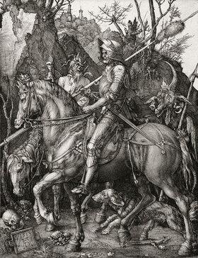 Albrecht Dürer: Der Reiter (Ritter, Tod und Teufel)
