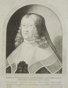 von Ludwig Siegen: Landgräfin Amalia Elisabeth von Hessen-Kassel