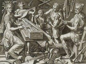Cornelis Cort: Die Musik