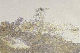 Ker Xavier Roussel: Landschaft mit Badenden