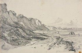 Friedrich Nerly (Nehrlich): Das Brodtener Ufer bei Travemünde