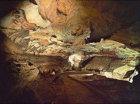 Unbekannter Künstler: Höhle von Lascaux,  Saal der Stiere; ca. 17.000 v.Chr