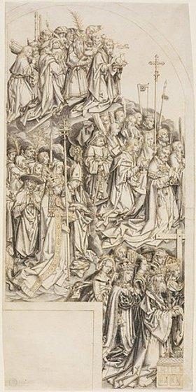 Hans d.Ä. Holbein: Linker Flügel eines Allerheiligenaltares